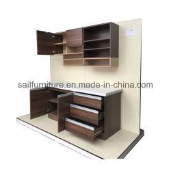 Diseño simple armario Armario de Cocina de madera
