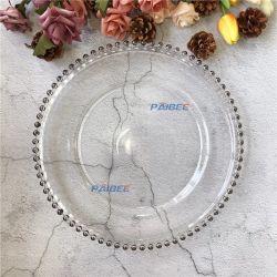 De populaire Geparelde Plaat van de Lader van het Glas in Gouden Zilveren nam de Gouden Hoge Transparante Plaat van het Glas toe
