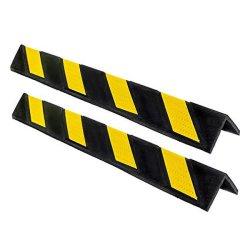 Protezione d'angolo del garage di gomma per protezione della parete con gli alti riflettori
