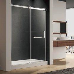 알루미늄 합금 슬라이딩 샤워 도어 및 스테인리스 스틸 타월 바