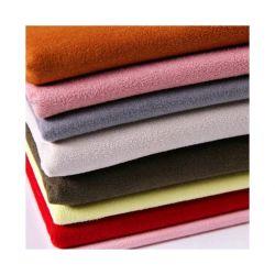 100 % polyester microfibres synthétiques en daim ordinaire de la sellerie tissu canapé