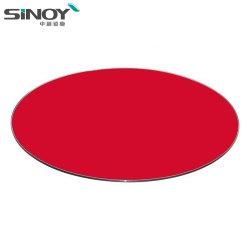 Het ronde Rood schilderde terug Glas voor de Bovenkant van de Lijst van het Glas