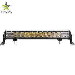 مصباح العمل LED، شريط التشغيل High Power DOT 4 Quad Rows قضيب مصباح LED لشاحنة الدفع الرباعي 4X4 مقاس 20 بوصة 44 بوصة 24 فولت Offroad