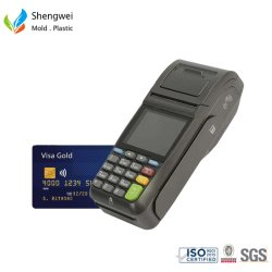 Ordinateur de poche POS de code à barres de la borne d'Android Système de la machine Cash Register Carte de crédit magnétique balayez vers le terminal portable de paiement Le projet de loi POS Machine de moulage par injection plastique