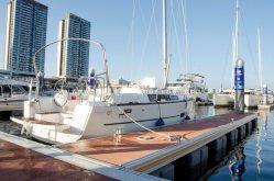 개인적인 정박소를 위한 바다 급료 6061 T6 알루미늄 뜨 교주
