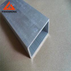 7075 La tubulure en aluminium carrées