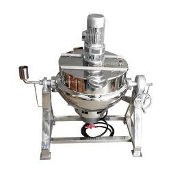 Macchinario di trasformazione dei prodotti alimentari dell'acciaio inossidabile che cucina POT per il materiale da otturazione dell'alimento