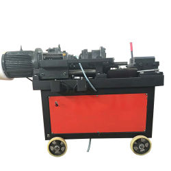 12 mm ankerbout Rebar-koppeling Thread Rolling Cutting machine