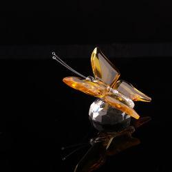 Fabricación China Facotry Mariposa de cristal para la decoración del hogar o regalos de boda