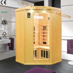グループの適性装置、乾燥した浴室熱い療法のサウナのドームとしてよいアメリカツガの遠い赤外線コーナーのサウナ部屋