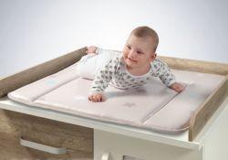 Nappy van de Luier van de Baby van de luxe de Veranderende Matten van de Zorg van de Stootkussens van de Lijst (YFC044)