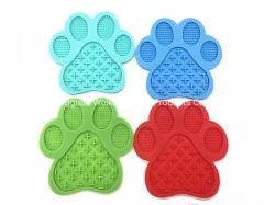 Silicone Slow Eating Dog Lick Pad met zuigkracht naar de muur Veilig materiaal Mat Bowl voor hondentraining Grooming