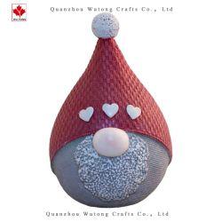 卸し売り樹脂はクリスマスの帽子の休日の装飾のホーム装飾を制作する