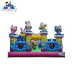 Parco divertimenti gonfiabile Gommone Fun City En14960