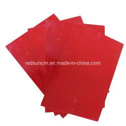 Todas aislamiento Espesor de la Upgm203 Gpo3 Mat de poliéster no saturado de hoja de vidrio con color rojo