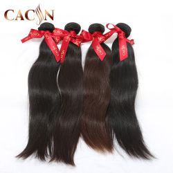 Ensemble complet de la tête d'un sèche cheveux soyeux malaisien véritable extension de droite