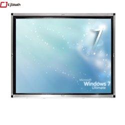 Visualizzazione di LED capacitiva del video dell'affissione a cristalli liquidi del USB RS232 del VGA DVI del comitato HDMI dello schermo attivabile al tatto di Cjtouch Touchmonitor 19inch