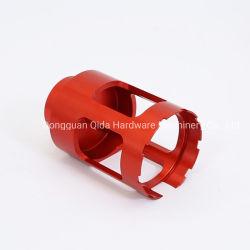 Kundenspezifische Präzision CNC-Teile/Maschinerie von maschinell bearbeitet/von maschineller Bearbeitung, die mit Material der Metall-/Aluminiumlegierung/des Edelstahls aufbereitet