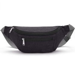 À prova de moda executando Sports Caminhadas Camping Travel homens Bum Crossbody Bag Tórax Cintura com alça ajustável