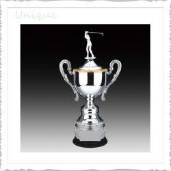 Trofeo de metal del molde disponibles para el Golf de aleación de zinc de la competencia de la medalla de campeón del Trofeo para el Premio excelente altura 500/440/440mm