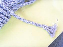 Glitter métallique de la corde élastique en usine
