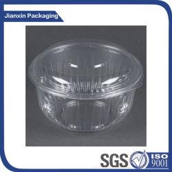 Bol d'emballage jetable en plastique clair