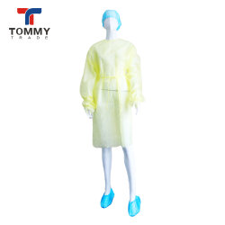 Abito chirurgico a gettare non tessuto di isolamento dei prodotti di sanità del Hubei