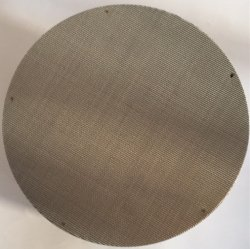 SS304 SS316 SS316L 보통 직물 20 40의 60의 80의 메시 까만 철사 피복/플라스틱 압출기 망사형 화면