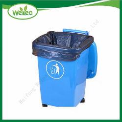 Material virgen 100% de la bolsa de basura de gran volumen de las camisas de bin