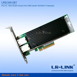 Intel X540am2のチップセットデュアルポート2*RJ45 10gbase-T LANカード10gのイーサネットのカードX540-T2サーバーアダプターとの同じ