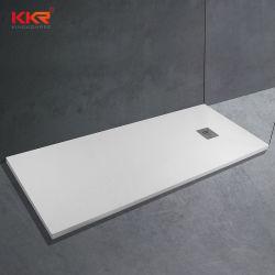 人工樹脂石大理石のバスルームにはバスタブとシャワールームにはトレイが付いている プロジェクト