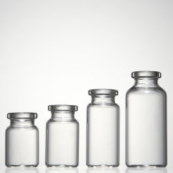 pharmazeutische freies 10ml oder bernsteinfarbiges Borosilicat-kleine Einspritzung-Glasflaschen-Phiole
