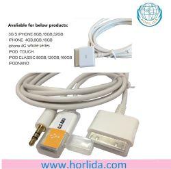 3.5 аудио/кабель Aux и USB-кабель зарядного устройства для iPhone 4S/4