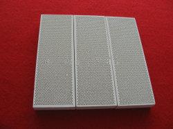 Placa cerâmica favo de infravermelhos do aquecedor para a caldeira a gás, Grill e queimador