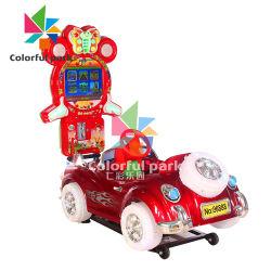 Automobile variopinta dell'oscillazione del video gioco della macchina del gioco dell'automobile dei capretti dell'automobile elettrica della sosta