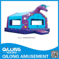 Forma de caballo en China Gorila inflable (QL-D069)