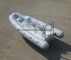 Aqualand 16piedi 4,8m Rib Patrol Boat/rigido gonfiabile Rescue Boat/Diving Boat/Coach Barca (RIB480T)