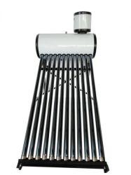 evakuierte kompakter Solargeysir des Niederdruck-100liter mit 10 Solargefäße