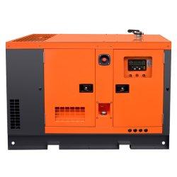 Tipo de alimentación silenciosa China Fawed generadores diesel refrigerado por agua 12kw 15kVA 3fase 400/230V 50Hz Genlent alternador