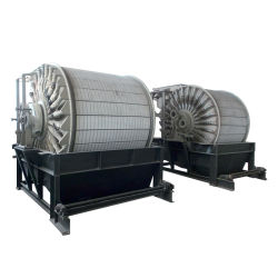 Äußerer filternder Oberflächentrommel-permanenter magnetischer Vakuumfilter