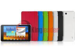 """7"""" com sistema Android Tablet Dual Core com couro de volta caso (K4)"""