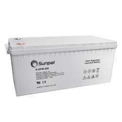 بطارية حمض الرصاص Sunpal بجهد 12 فولت وقدرة 200 أمبير في الساعة مع بطارية جيدة السعر وأفضل جودة