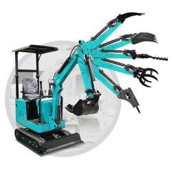 Le matériel de construction Ce nouveau circuit hydraulique sur chenilles Pelle sur pneus Mini Excavateurs Excavateurs amphibie avec mini pelle excavatrice usine pour la vente de pièces