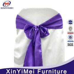 세일(XYM-S11)을 위한 새틴 웨딩 의자 커버 및 의자
