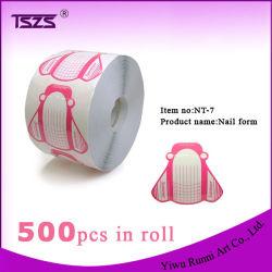 500 PCS de forma rã sob forma de pregos