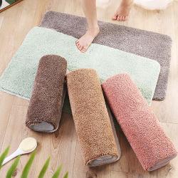 Porta antiderrapagem absorvente tapete macio luxuosos roupões de banho tapete de banho Manta de Retalhos