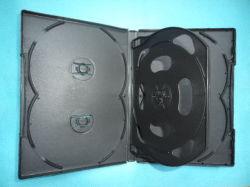 Multi di plastica del coperchio 27mm della casella DVD di caso DVD di DVD