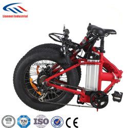 20polegadas gordura dobrável de bicicletas eléctricas dos pneus