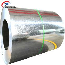 冷間圧延されたステンレス鋼は建築材料のカラーによって塗られた熱い浸された電流を通された鋼鉄コイルの価格を巻いた