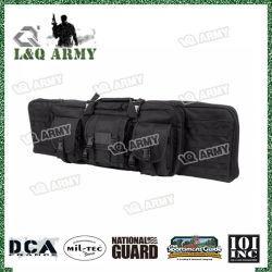 قطع البندقية العسكرية أكياس المسدس التكتيكية 2 في 1 مقبض يحمل الكتف حقيبة بندقية حقيبة بندقية علبة البندقية